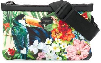 Dolce & Gabbana Tropical Print Belt Bag
