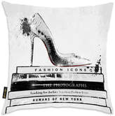 Oliver Gal Home 'Fashion Icons' Pillow