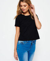 Superdry Lace Pocket Crop T-shirt