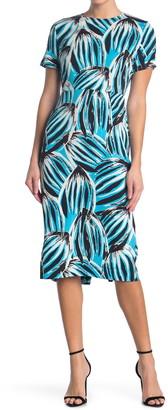Diane von Furstenberg Inya Floral Print Dress