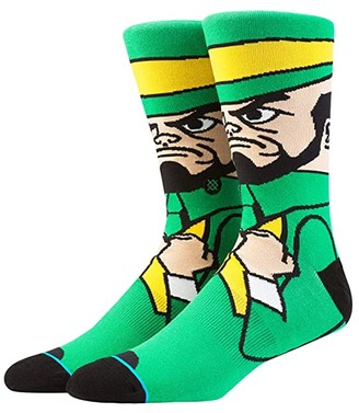 Stance Fighting Irish (Green) Men's Crew Cut Socks Shoes