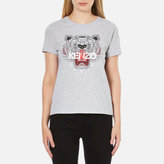 Kenzo Women's Tiger TShirt - Light Grey