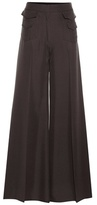 Valentino Wide-leg Silk Trousers
