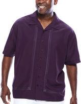 HAVANERA The Havanera Co. Short-Sleeve Embroidered Shirt- Big & Tall