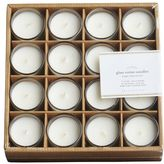 Pottery Barn Filled Glass Votive Candle, Set of 16