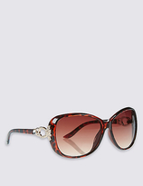 M&S Collection Embellished Oversized Sunglasses