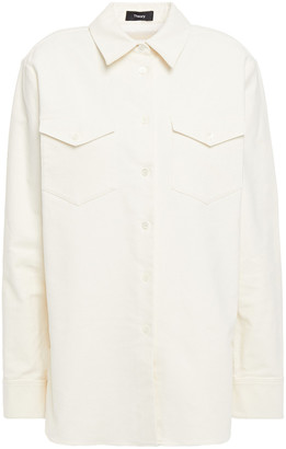 Theory Cotton-blend Twill Shirt