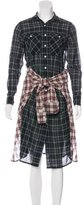 R 13 Plaid Wool Dress w/ Tags