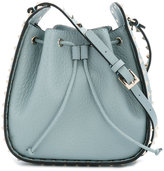Valentino Gaaravani Rockstud bucket shoulder bag