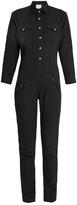 R 13 Cowboy point-collar cotton jumpsuit