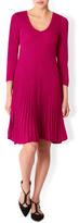 Monsoon Paula Pleated Short Dress