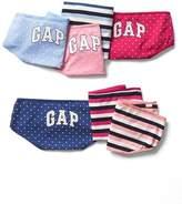 Gap Logo print hipsters (7-pack)