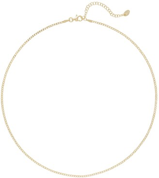 Argentovivo Curb Chain Necklace