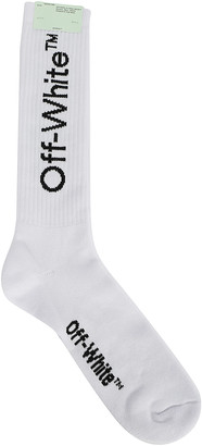 Off-White Diag Mid Socks