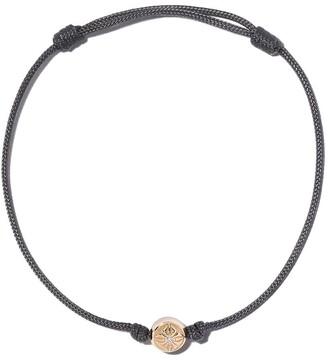 Shamballa Jewels 18kt yellow gold & diamond Orb charm bracelet