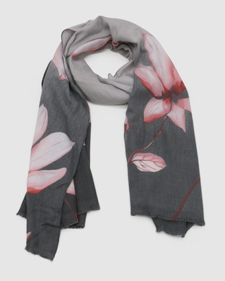 Morgan & Taylor Women's Grey Scarves - Milena Scarf - Size One Size at The Iconic