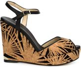 Jimmy Choo 'Perla' sandals - women - Suede/Leather/Cork - 40