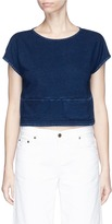 AG Jeans 'Nio' pocket cropped cotton T-shirt