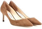 Jimmy Choo Romy 60 Suede Pumps