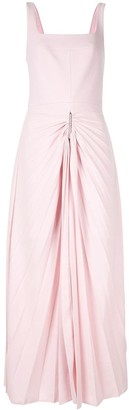 Dion Lee Pleated Skirt Dress