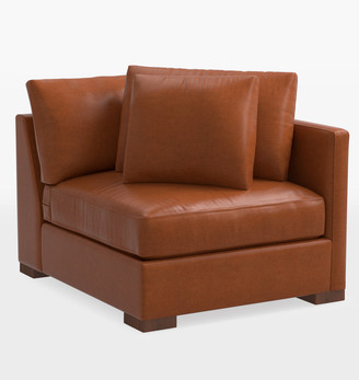 Rejuvenation Wrenton Luxe Leather Sectional Armless Chair