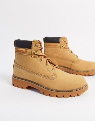 CAT Footwear CAT leather hiker boots in honey