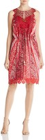 Elie Tahari McKenna Floral and Lace Dress - 100% Exclusive