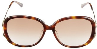 Gucci 58MM Oval Sunglasses