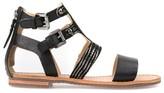 Geox D Sozy G High Ankle Leather Sandals