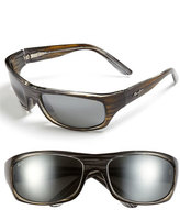 Maui Jim Men's 'Surf Rider - Polarizedplus2' 63Mm Sunglasses - Grey/ Black