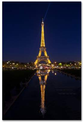 """LIBRARY Trademark Fine Art """"Eiffel Tower 9"""" by Robert Harding Picture Library, Canvas Art, 12""""x19"""