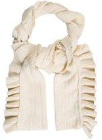 Stella McCartney Ruffled Wool Scarf w/ Tags