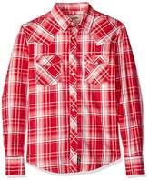 Wrangler Men's Retro Long Sleeve Snap Front Plaid Shirt