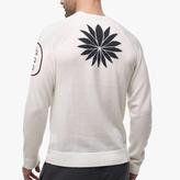 James Perse Cashmere Graphic Raglan Sweater