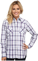 Roper 9537 Blue Berry Plaid