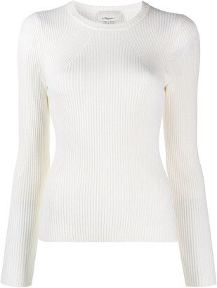 3.1 Phillip Lim Ribbed Fitted Jumper