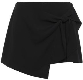 Alice + Olivia Draped Crepe Shorts