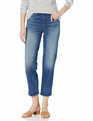 Hudson Women's Zoeey High Rise Straight Crop 5 Pocket Jean