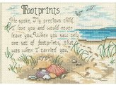 "Dimensions He Spoke"" Mini Counted Cross Stitch Kit, Multi-Colour"