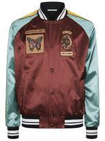 Valentino Embellished Bomber Jacket