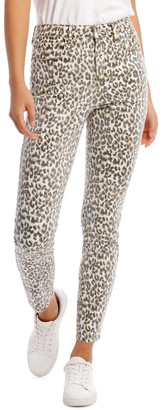 Grab Madison High Rise Skinny Leopard Jeans