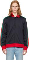 Gucci Navy modern Future Track Jacket