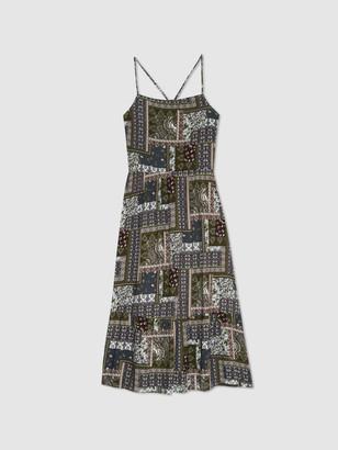 Hiatus Open Back Midi Dress