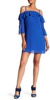 Amy Byer A. Byer Bell Sleeve Shift Dress