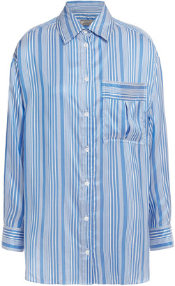 Nina Ricci Striped Silk Shirt