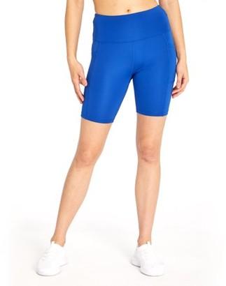 Bally Total Fitness Women's High Rise Pocket Bike Short