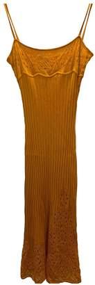 John Galliano Orange Dress for Women
