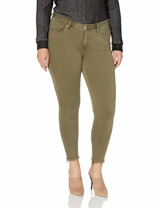 Lucky Brand Women's Plus Size MID Rise Lolita Skinny Jean in Mojave Valley