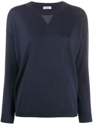 Brunello Cucinelli Round Neck Sweatshirt