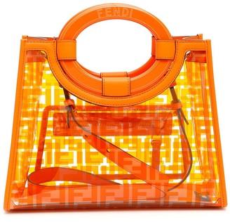 Fendi Runaway FF Monogram Tote Bag
